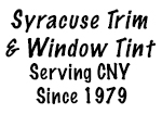 Syracuse Trim & Window Tint Logo